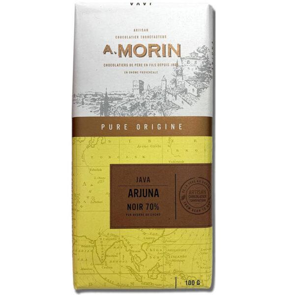 morin pure origine chocolade java indonesië rokerig rook smaak