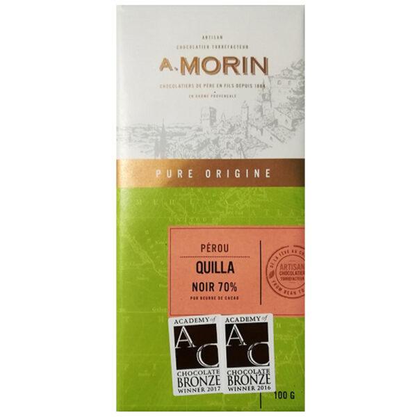 morin quilla peru 70% chocolade origine bean to bar