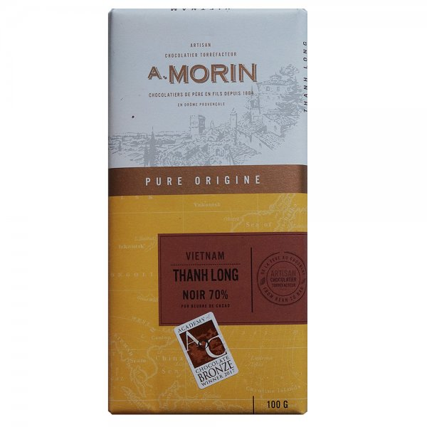 morin vietnam chocolate ben tre pure spicy spicy long aftertaste bean to bar