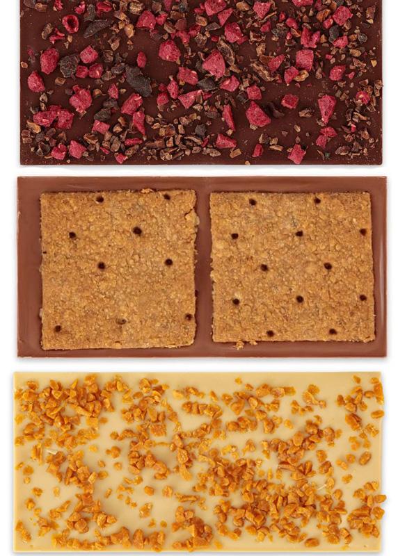 omnom kerst pakket chocolades feestdagen exclusief ijslandse bean to bar chocolades