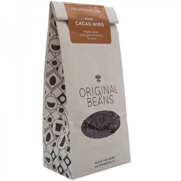 cocoa nibs for baking and cooking smoothies organic fair origin tanzania udzungwa