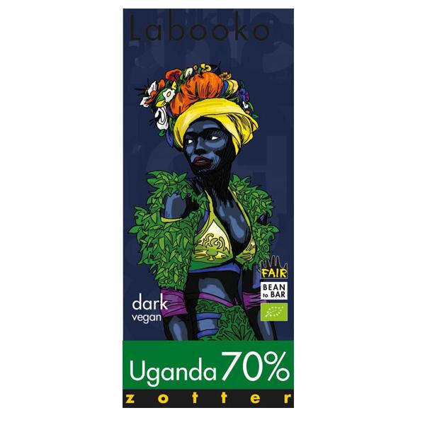 uganda origine chocolade van zotter biologisch en vegan chocoladereep