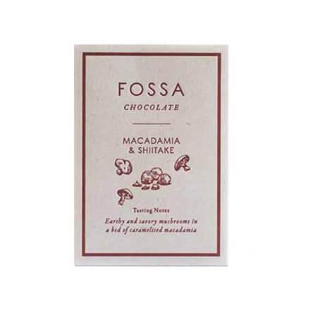 Fossa – Macadamia & Shiitake