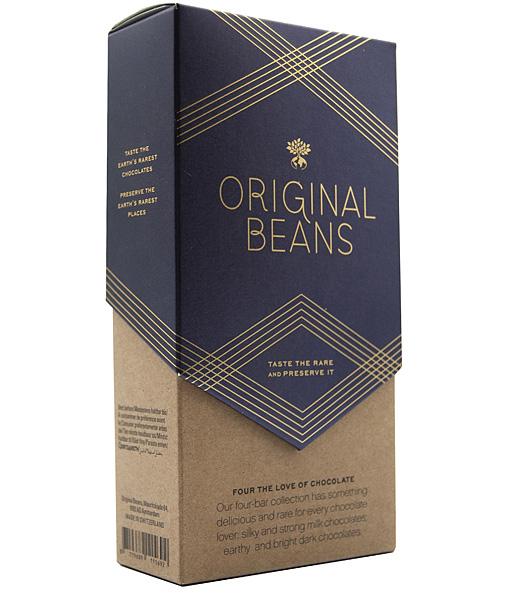 original beans cadeau chocolade thuisbezorgd puur en melk eerlijk biologisch fair