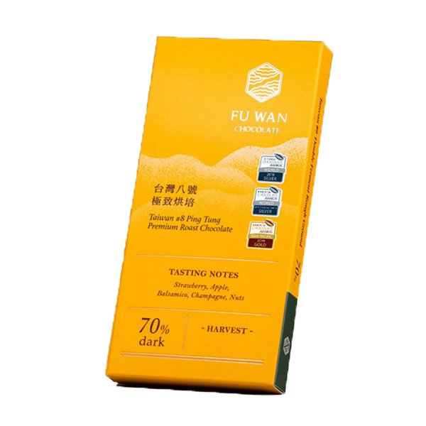 fu wan 8 premium roast chocolade chocoladereep taiwan tree to bar