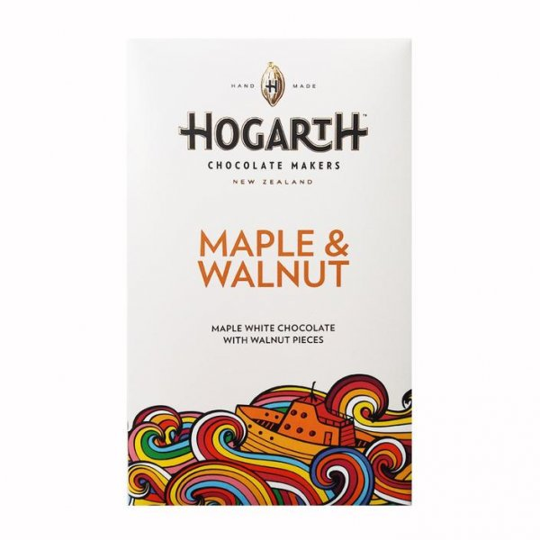 hogarth maple walnut white chocolate addictive tasty sweet and nutty walnut and maple