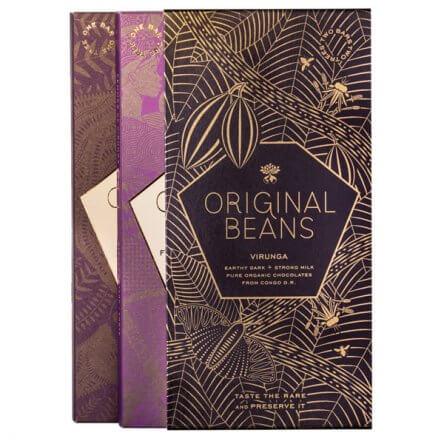 Original Beans – Virunga Milk & Dark Giftset