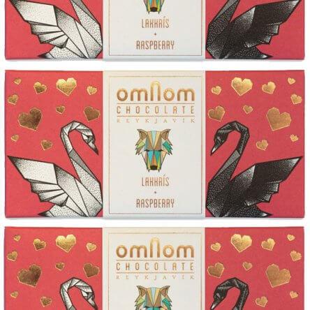 Omnom – Frambozen & Drop