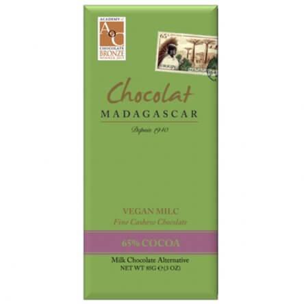 Chocolat Madagascar 65% Vegan Milc