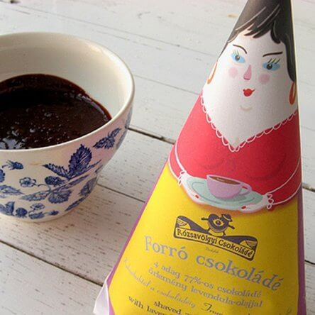 Rózsavölgyi Chocolade voor Chocolademelk – Lavendel