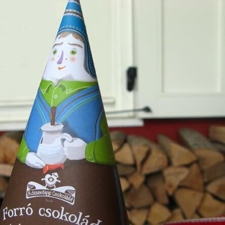 Rózsavölgyi Chocolade voor Chocolademelk  – Puur