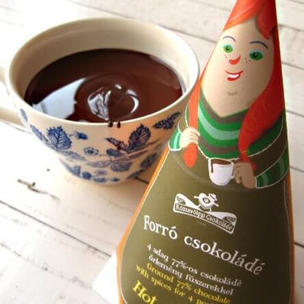Rózsavölgyi Chocolade voor Chocolademelk – Spicy