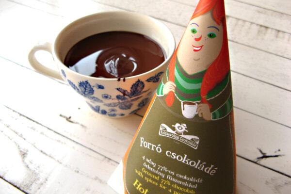 rozsavolgyi chocolademelk chocolade met peper en andere specerijen pittig verwarmend lekker