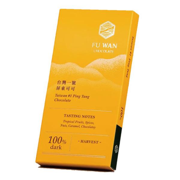 fu wan 100% chocolade cacao taiwan suikervrij