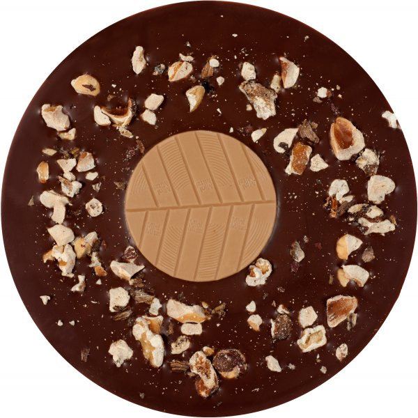 mitzi blue totally nuts chocolade met noten walnoten cashew hazelnoten