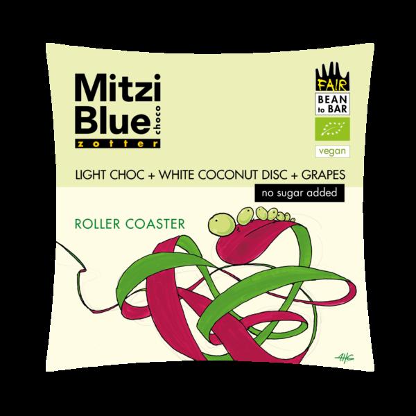 mitzi blue vegan organic eryhtritol chocolate