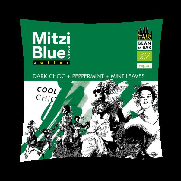 mitzi blue zotter pepermunt voatsiperifery