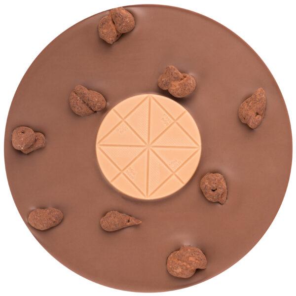 mitzi blue zotter koffie chocolade met caramel