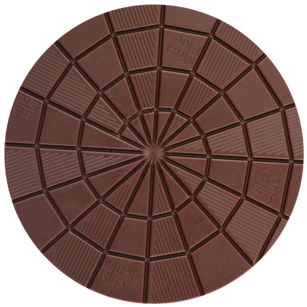 zotter chocolate disc symbol pattern beautiful