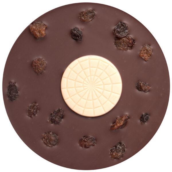 rollercoaster zotter chocolate vegan sugar free erythritol sweetener vegan coconut raisins