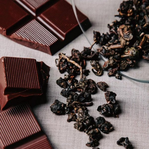 fu wan chocolate and smoked charcoal tea oolong taiwan