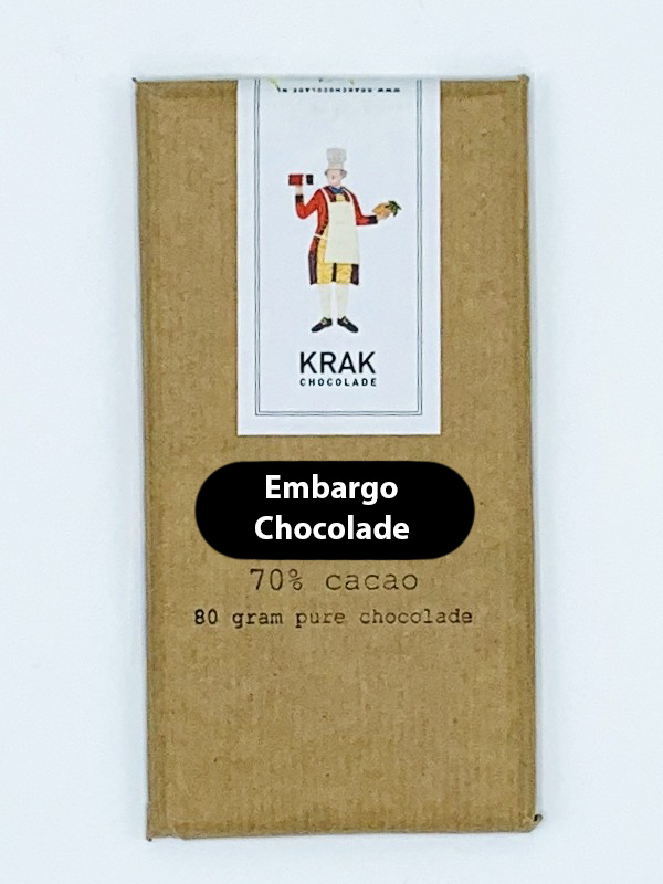 krak embargo chocolate origin cocoa enjoy 70 percent secret origin