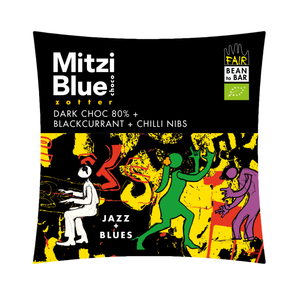 mitzi blue jazz blues pure chocolade chili zwarte bes