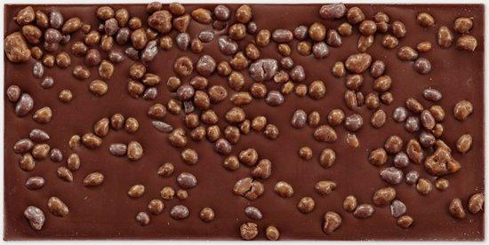 omnom pride caramel chocolade binnenkant