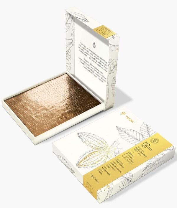 toak chocolade en verpakking een prachtig cadeau eacuador signature