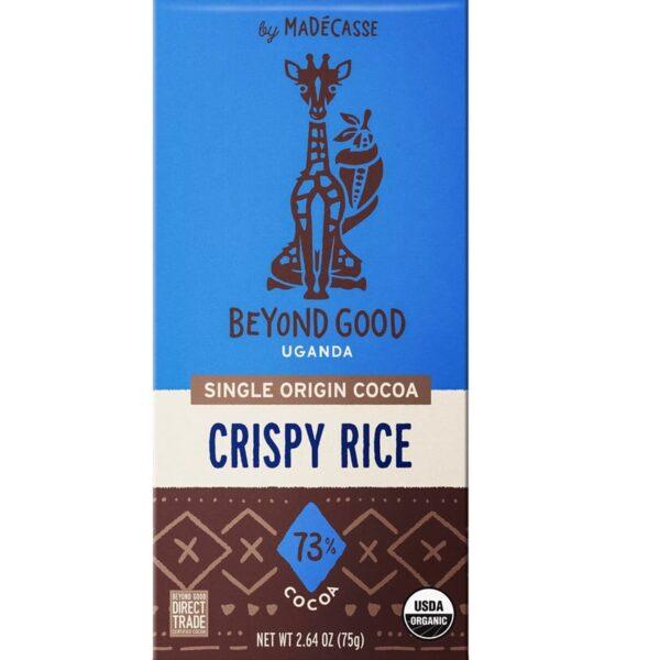 beyond good crispy rice crispy rice dark chocolate