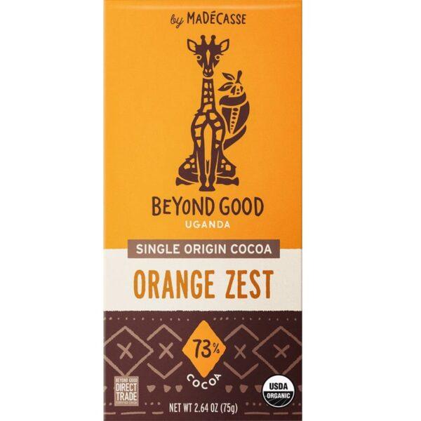 beyond good uganda sinaasappel zest chocolade madecasse direct trade biologisch fair