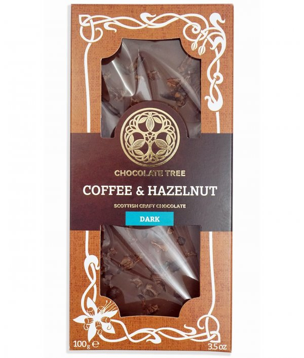 chocolate tree coffee hazelnuts pure organic chocolate