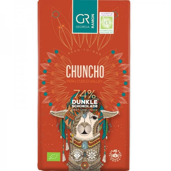 georgia ramon cusco chuncho bean to bar chocoladte dark vegan fair