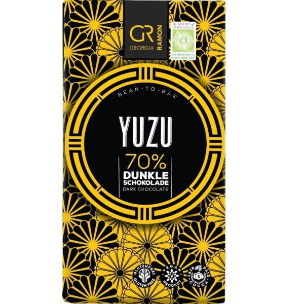 georgia ramon chocolate bar dark with yuzu