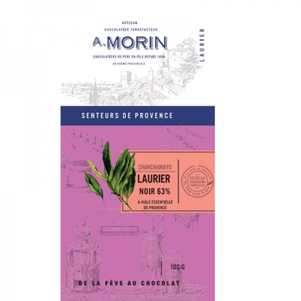 morin laurel provence chocolate pure bean to bar peru