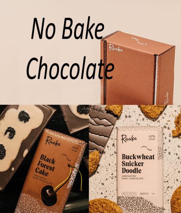 raaka first nibs no bake chocolate swarchwalder kirsch vegan