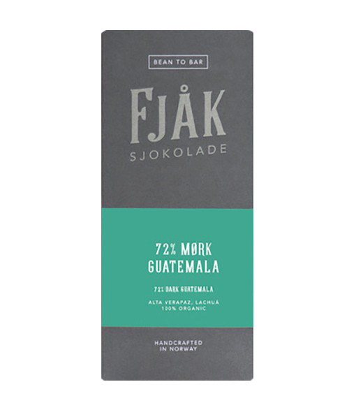 fjak guatemala chocolate organic norway bean to bar origin
