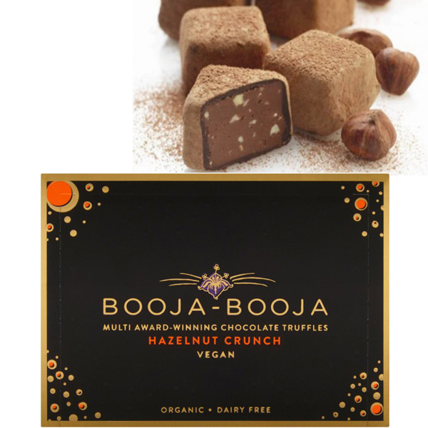 booja booja hazelnut crunch chocolate truffles