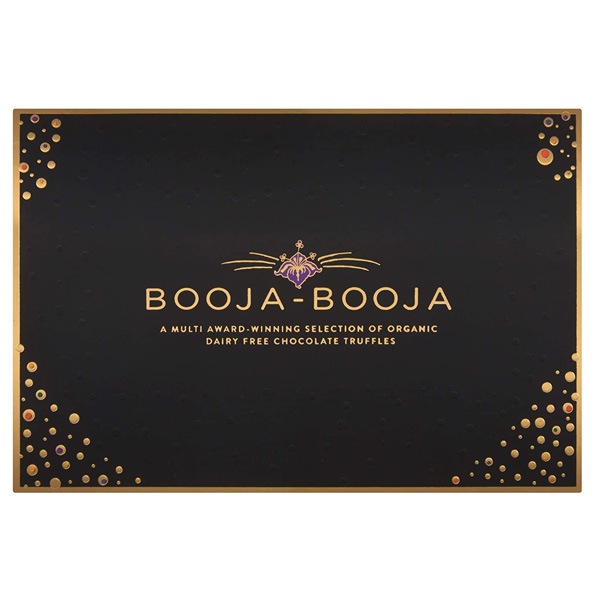 booja booja vegan chocolate truffels yummy award winning organic