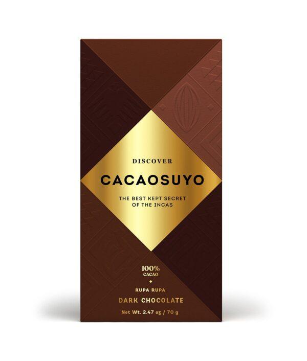 cacaosuyo rupa rupa 100% peru origine chocolate