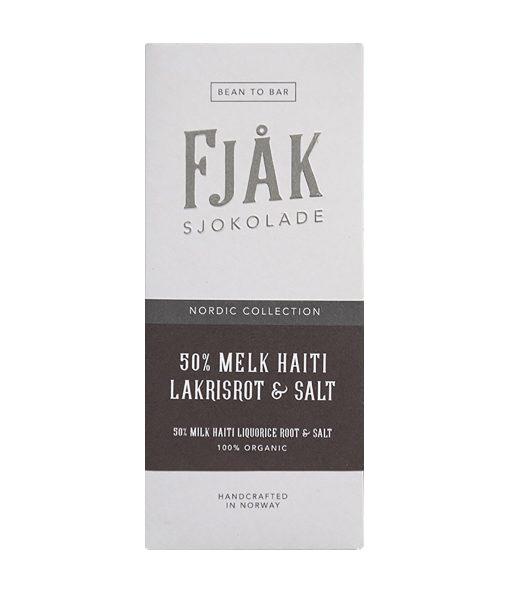 fjak melkchocolade met lakris zoethoutwortel