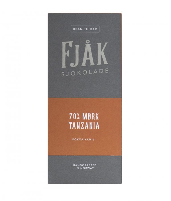 fjak pure origin chocolate bean to bar norway dark