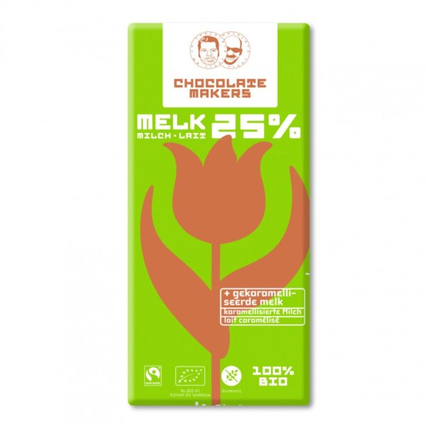 chocolatemakers melkchocolade 25%