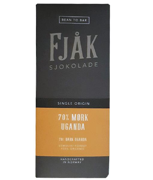 fjak uganda afrika single origin chocolade cacao 70% puur
