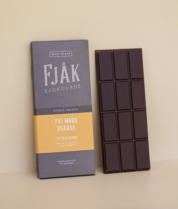 fjak pure single origin chocolate uganda