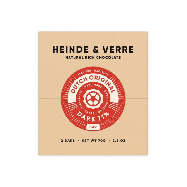 heinde & verre dutch original puur bean to bar chocolade