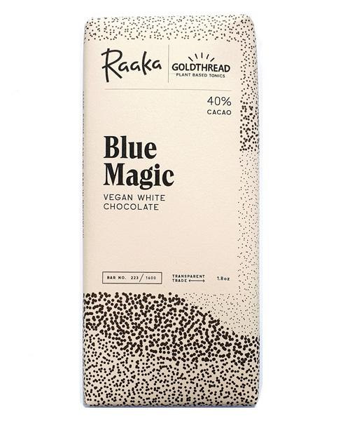raaka blue chocolate spirulina vegan white brooklyn tonic